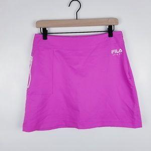 Fila Size 6 Pink Sport Golf Skort